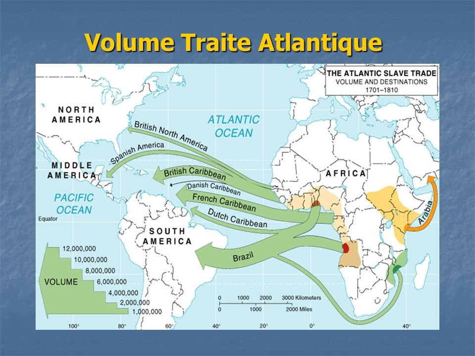 Volume Traite Atlantique
