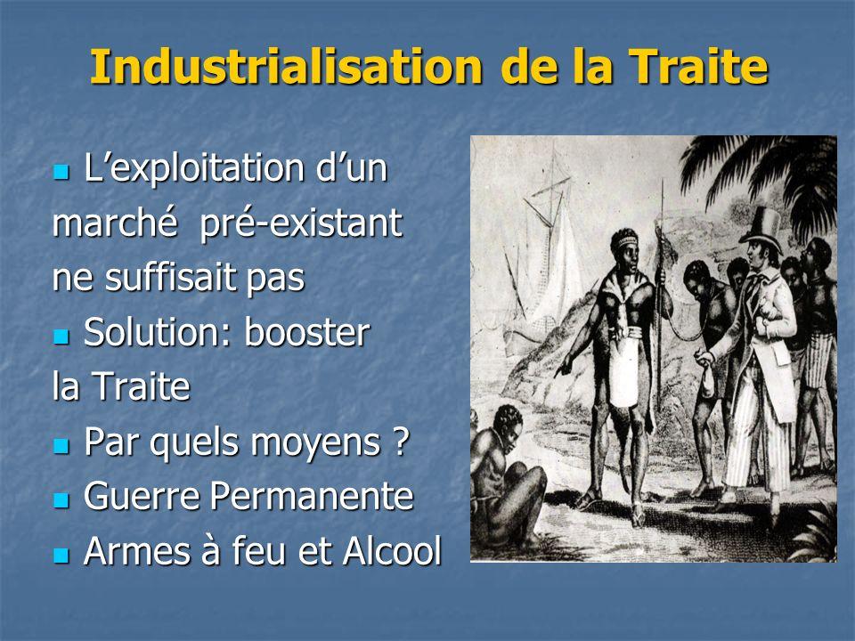 Industrialisation de la Traite