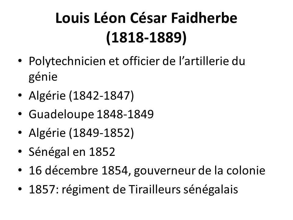 Louis Léon César Faidherbe (1818-1889)