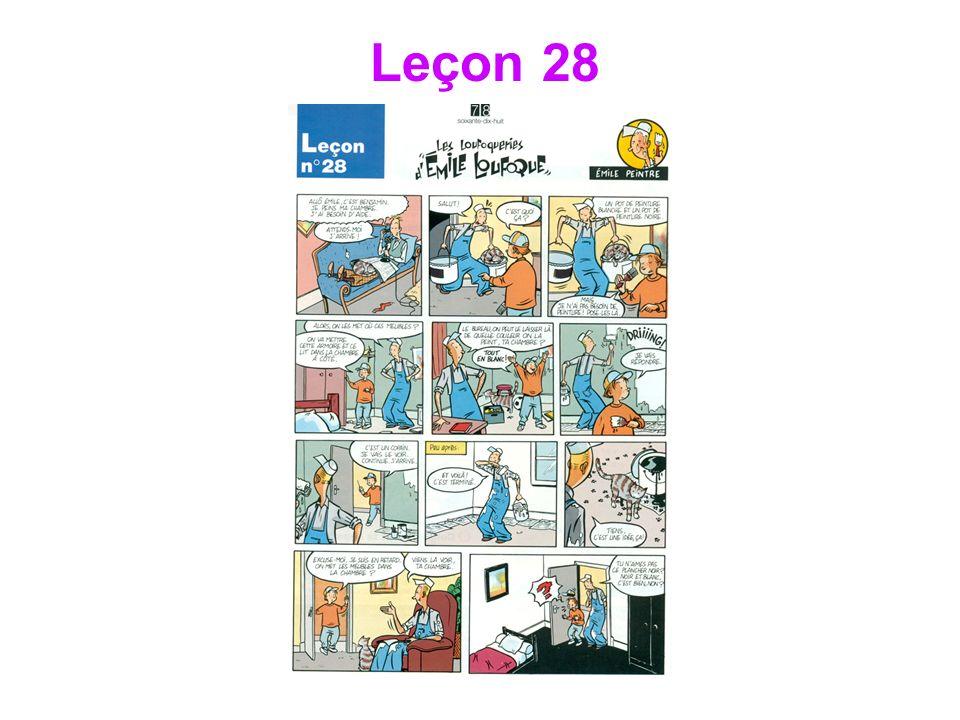 Leçon 28