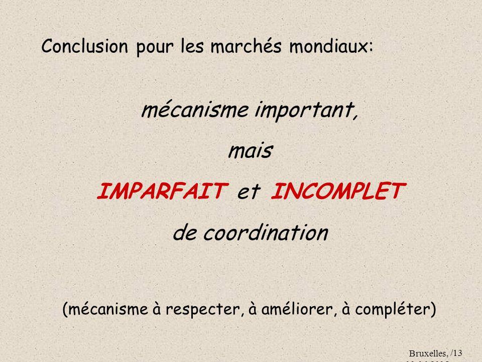 IMPARFAIT et INCOMPLET de coordination