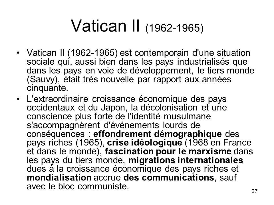 Vatican II (1962-1965)