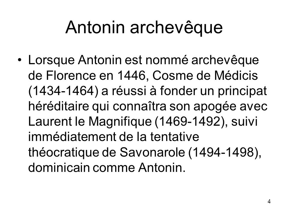 Antonin archevêque