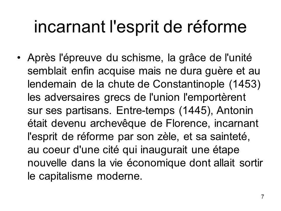 incarnant l esprit de réforme