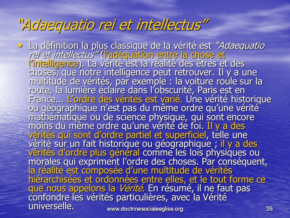 Adaequatio rei et intellectus