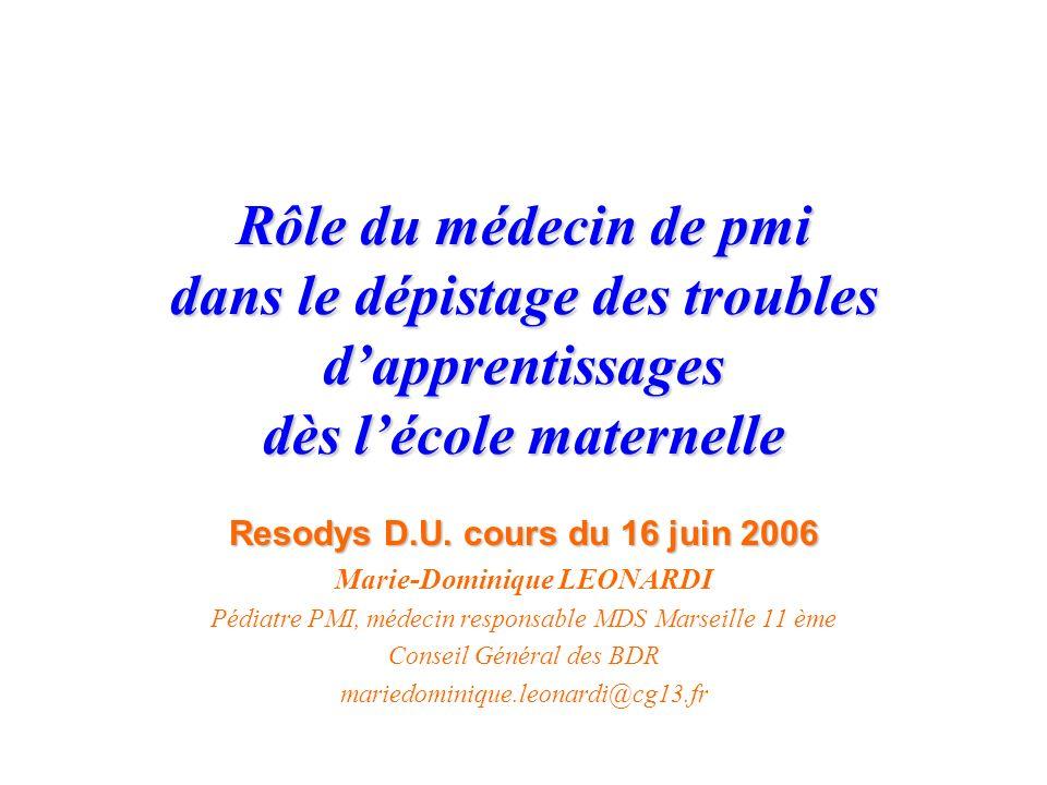Resodys D.U. cours du 16 juin 2006
