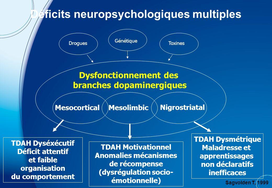Déficits neuropsychologiques multiples