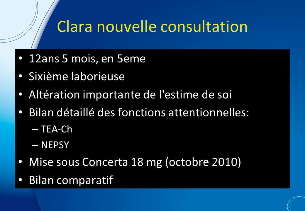 Clara nouvelle consultation