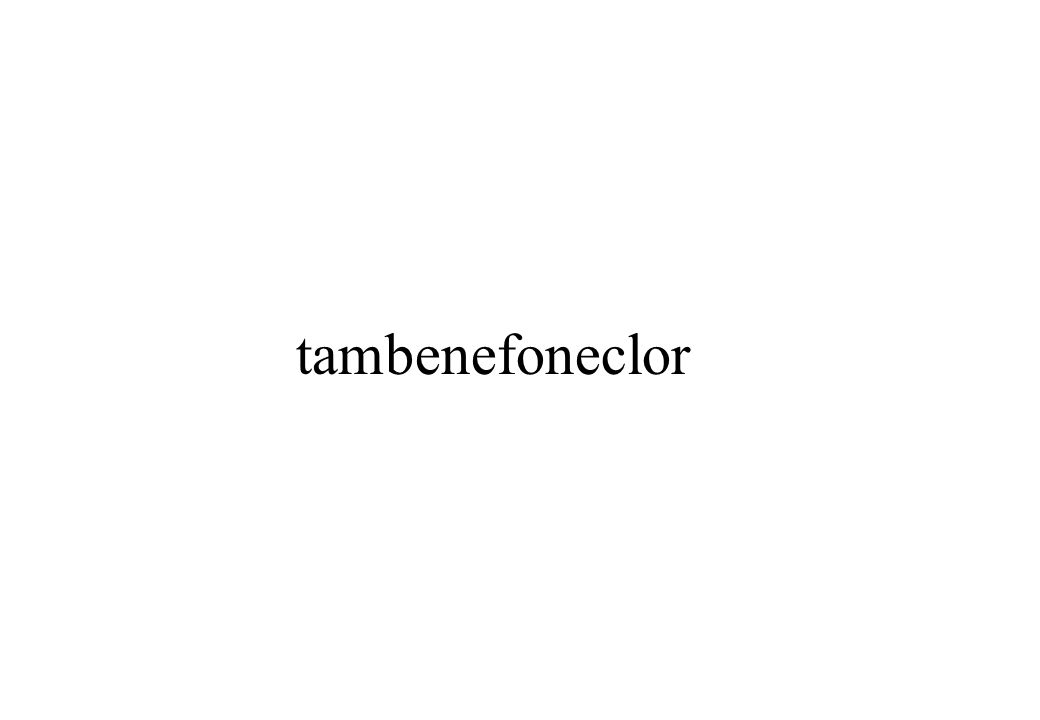 tambenefoneclor