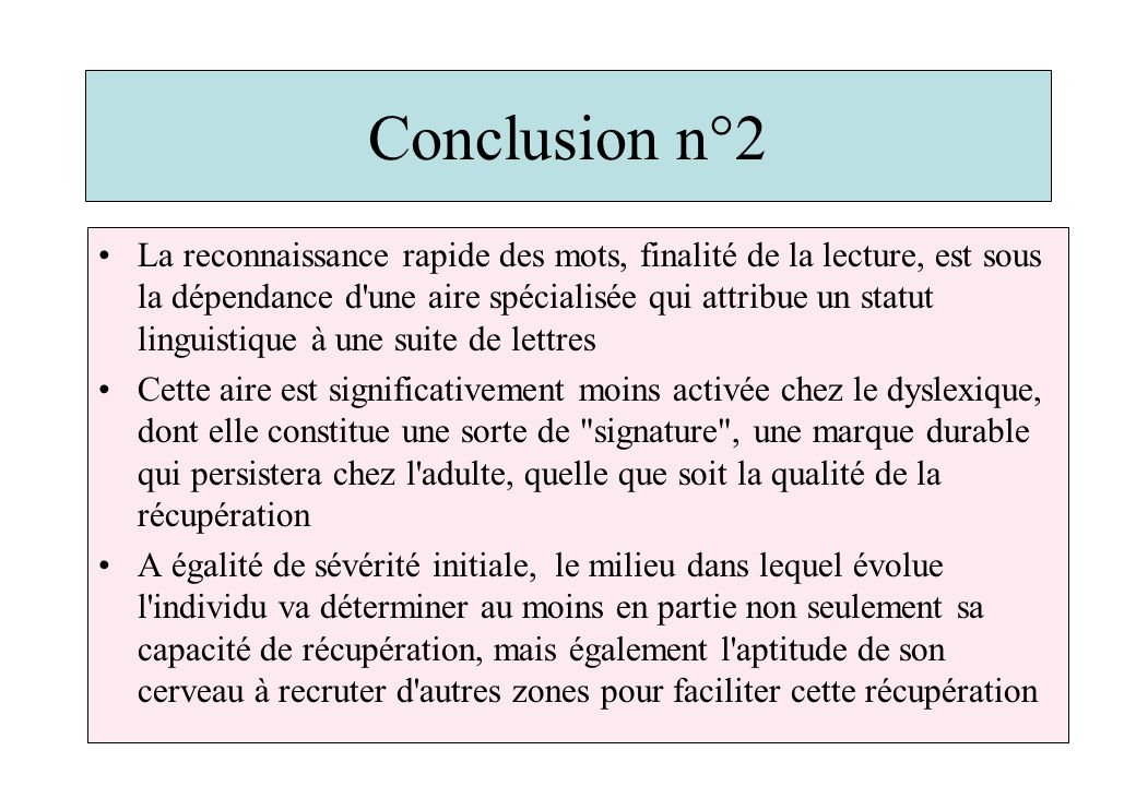 Conclusion n°2