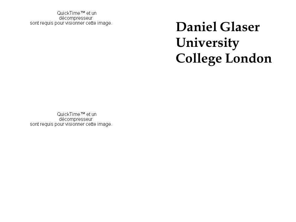 Daniel Glaser University College London