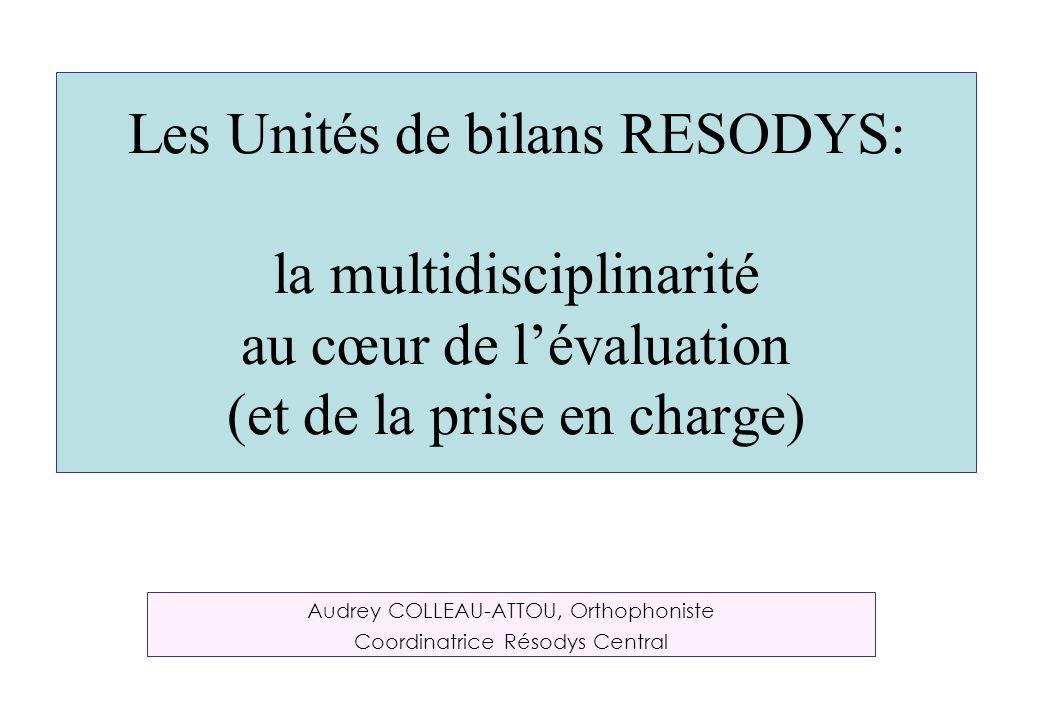 Audrey COLLEAU-ATTOU, Orthophoniste Coordinatrice Résodys Central