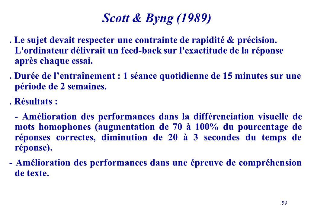 Scott & Byng (1989)