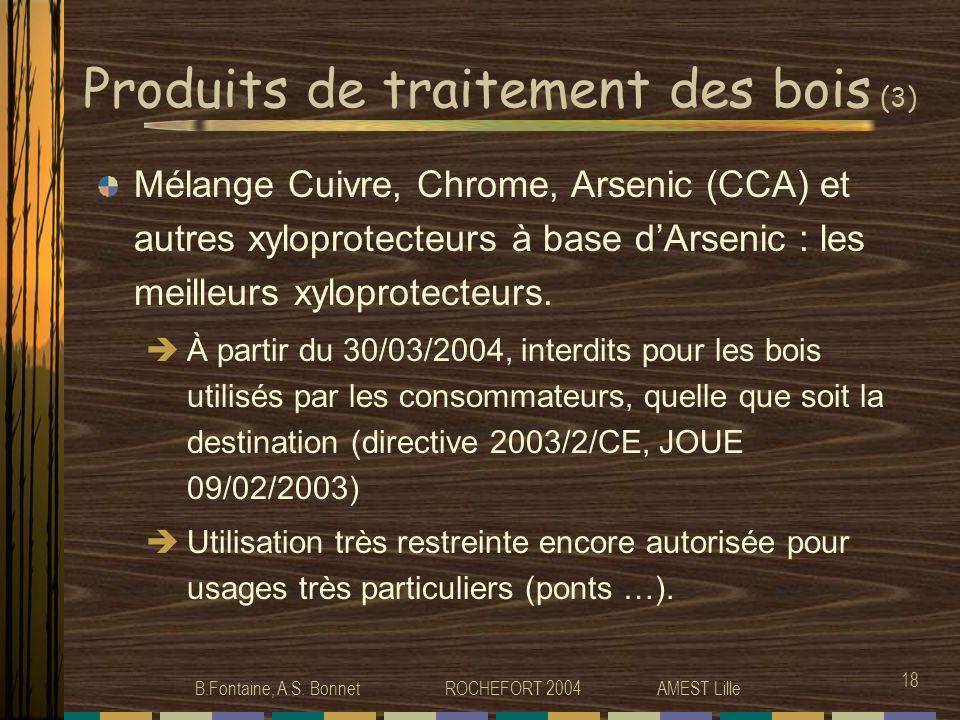 Produits de traitement des bois (3)