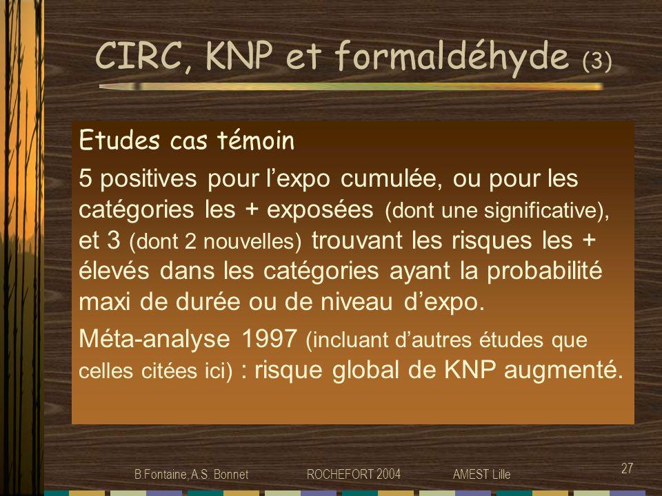 CIRC, KNP et formaldéhyde (3)