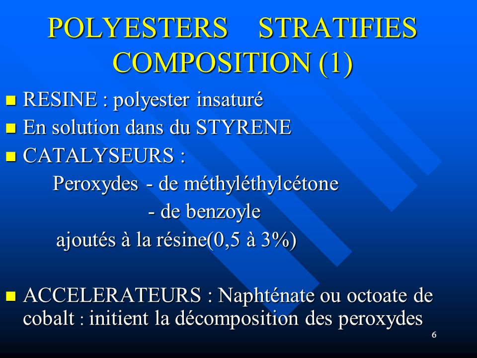 POLYESTERS STRATIFIES COMPOSITION (1)
