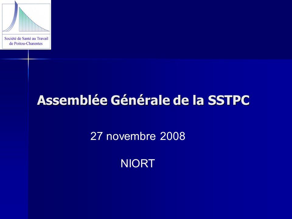Assemblée Générale de la SSTPC