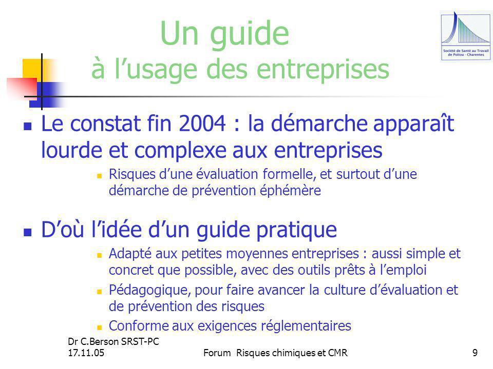 Un guide à l'usage des entreprises