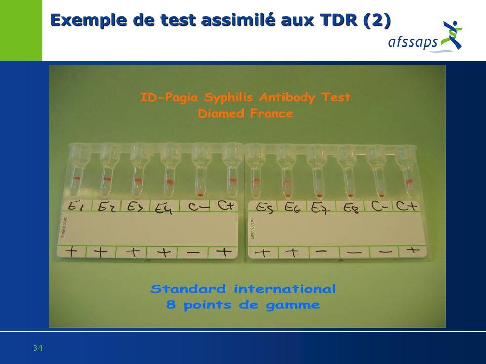 Exemple de test assimilé aux TDR (2)