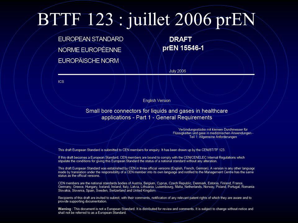 BTTF 123 : juillet 2006 prEN