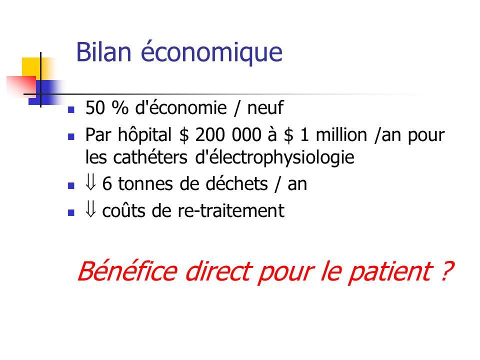 Bénéfice direct pour le patient
