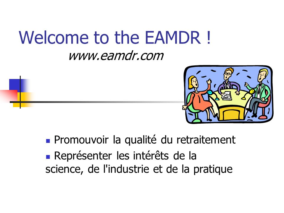 Welcome to the EAMDR ! www.eamdr.com