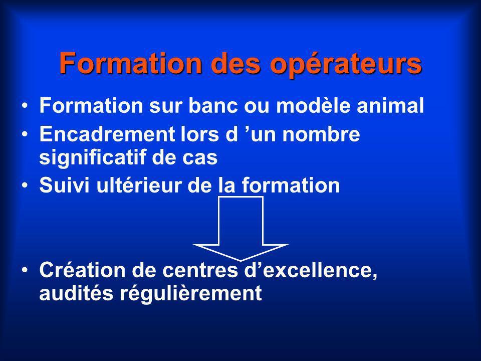 Formation des opérateurs