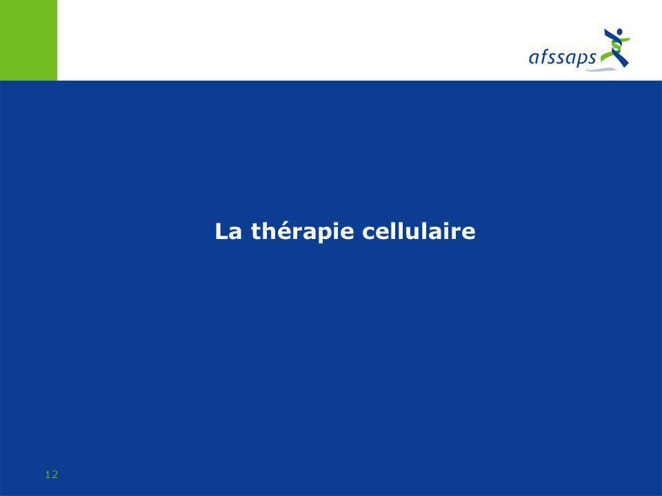 La thérapie cellulaire