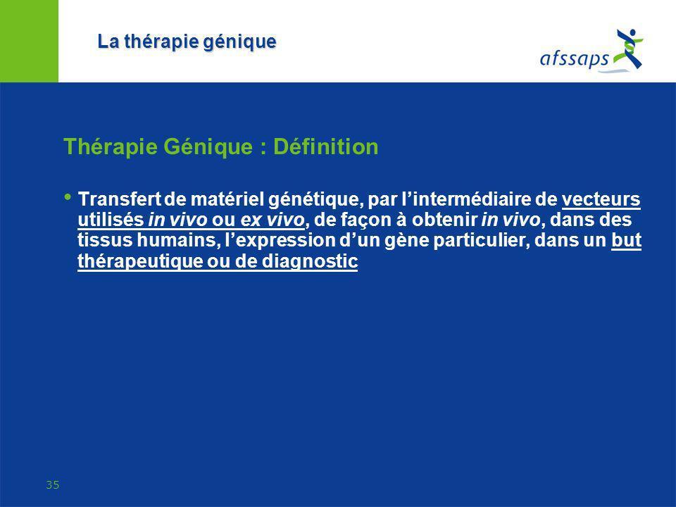 Thérapie Génique : Définition