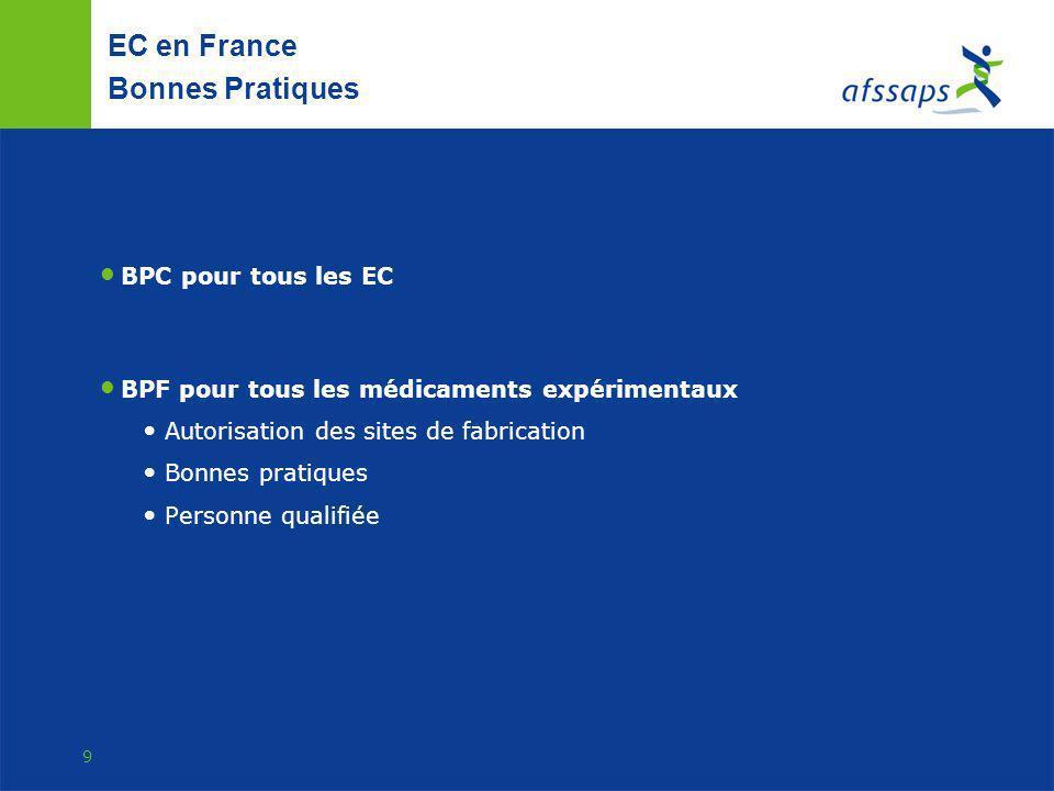 EC en France Bonnes Pratiques