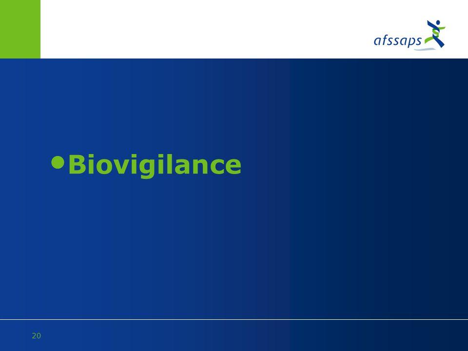 Biovigilance
