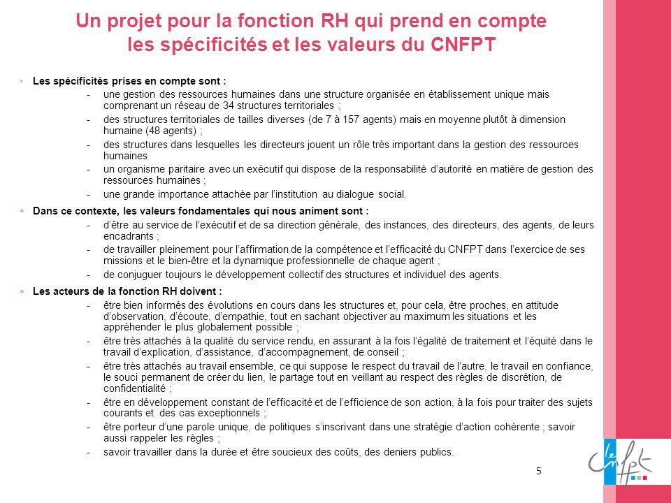 Un projet pour la fonction RH qui prend en compte les spécificités et les valeurs du CNFPT