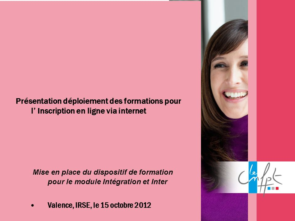 Valence, IRSE, le 15 octobre 2012
