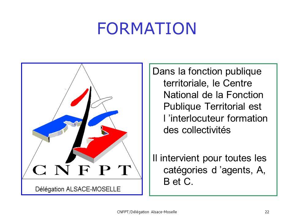 CNFPT/Délégation Alsace-Moselle