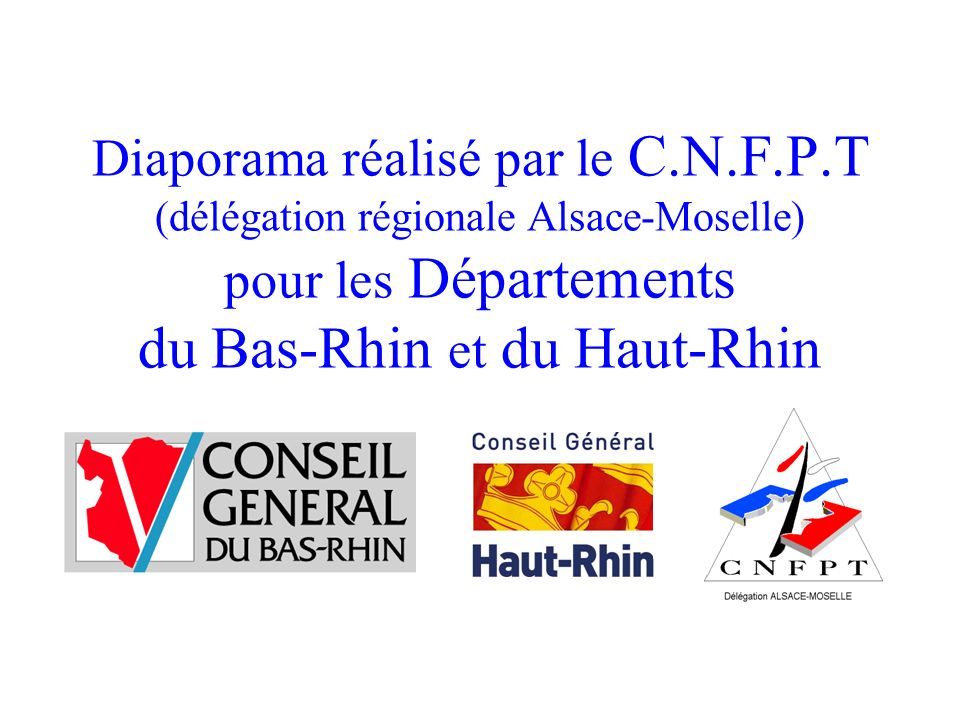 Diaporama réalisé par le C. N. F. P