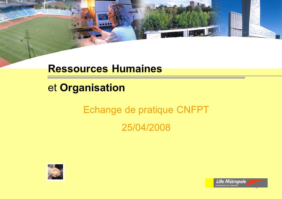 Echange de pratique CNFPT