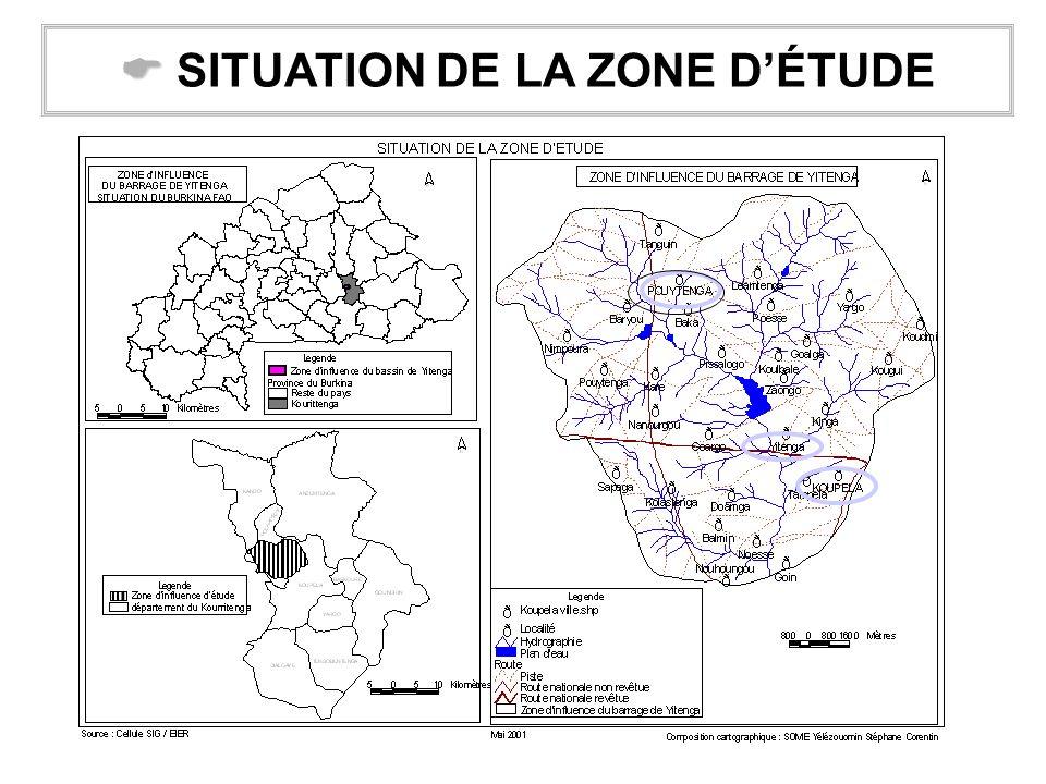  SITUATION DE LA ZONE D'ÉTUDE