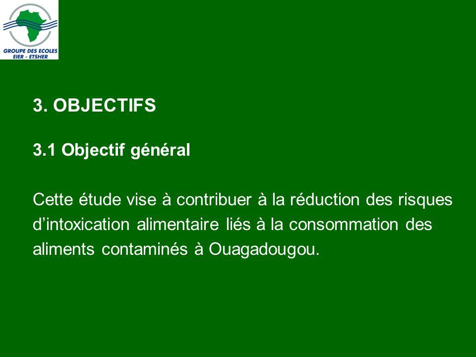 3. OBJECTIFS 3.1 Objectif général