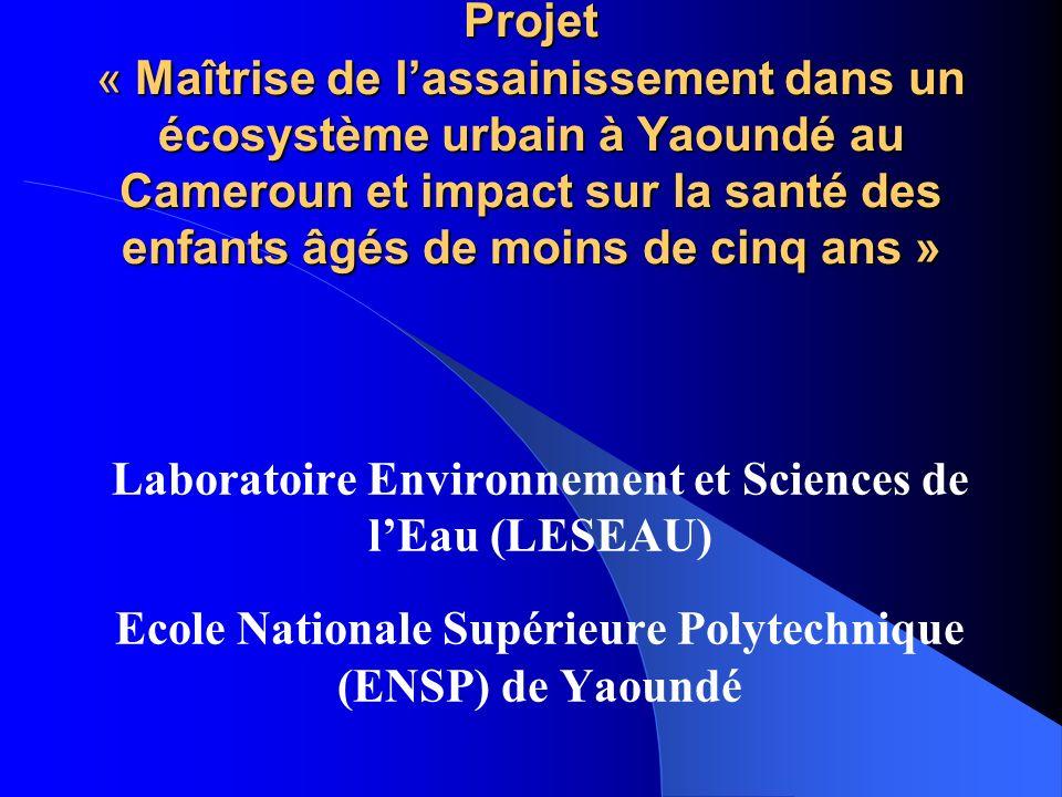 Laboratoire Environnement et Sciences de l'Eau (LESEAU)