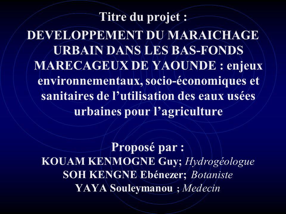 Titre du projet :