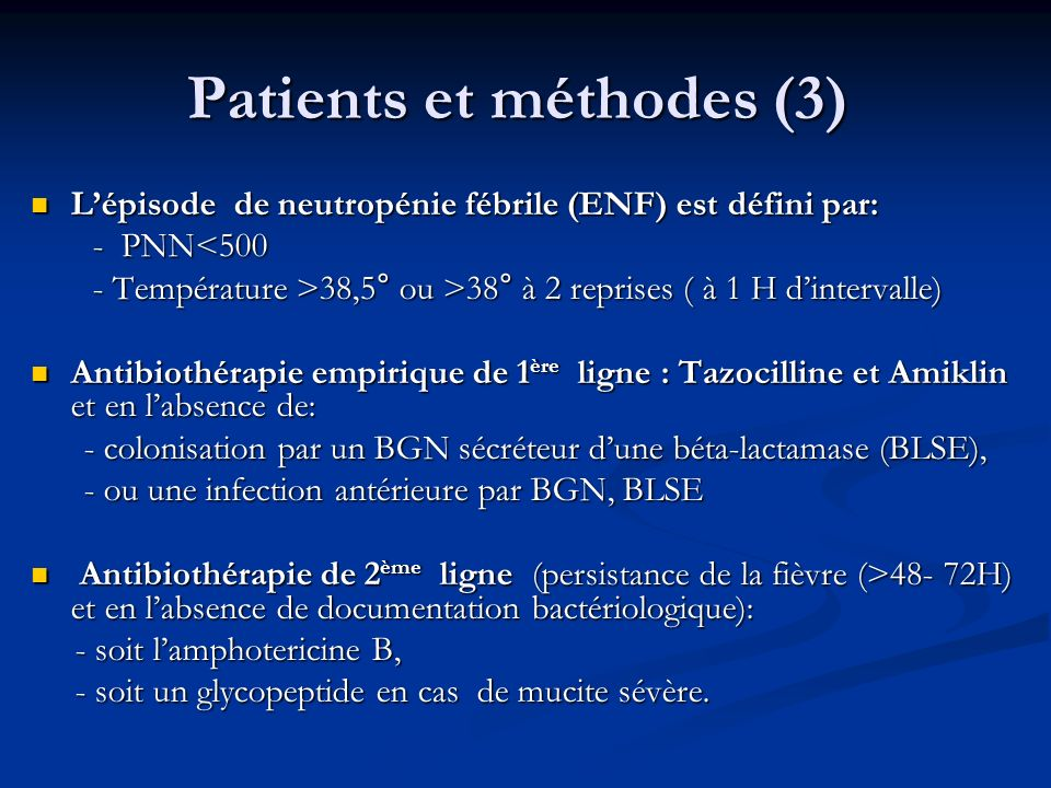 Patients et méthodes (3)