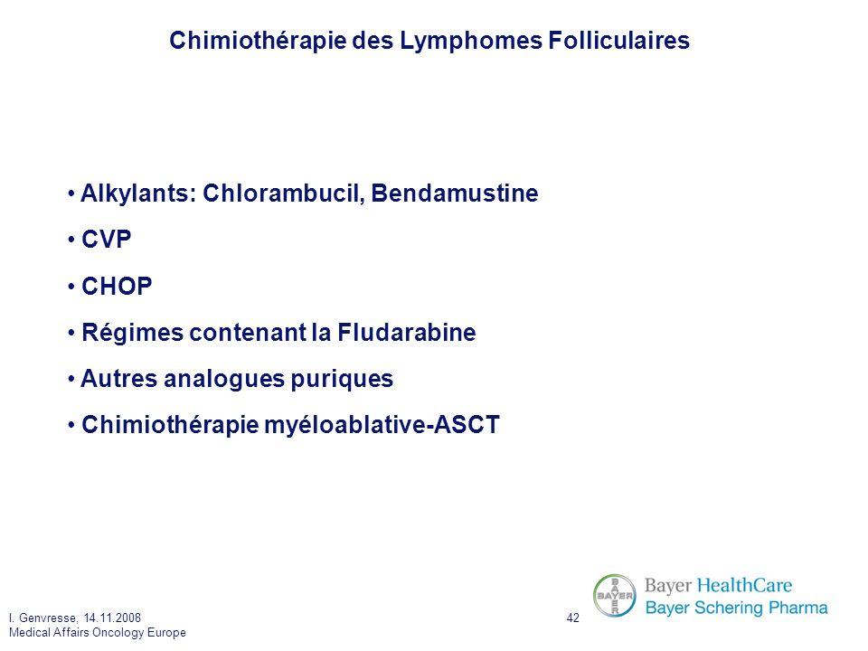 Chimiothérapie des Lymphomes Folliculaires