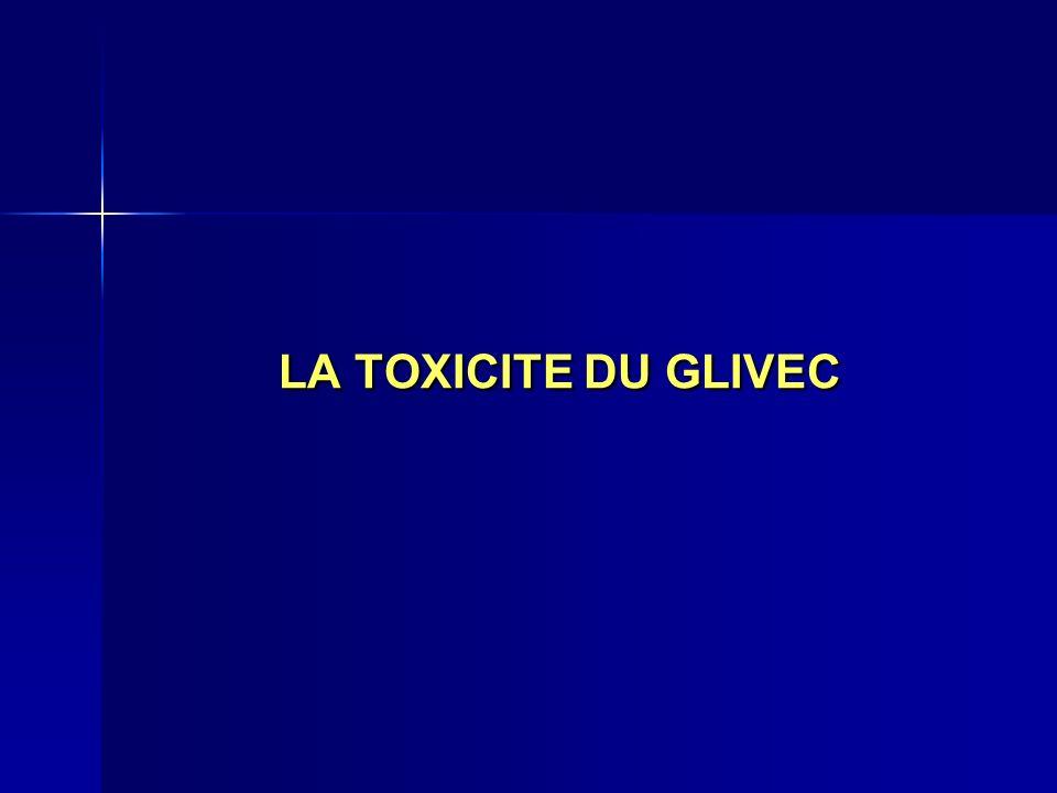 LA TOXICITE DU GLIVEC