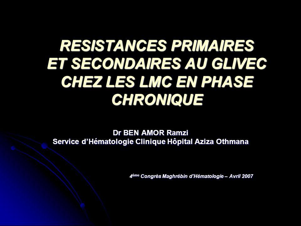 Service d'Hématologie Clinique Hôpital Aziza Othmana