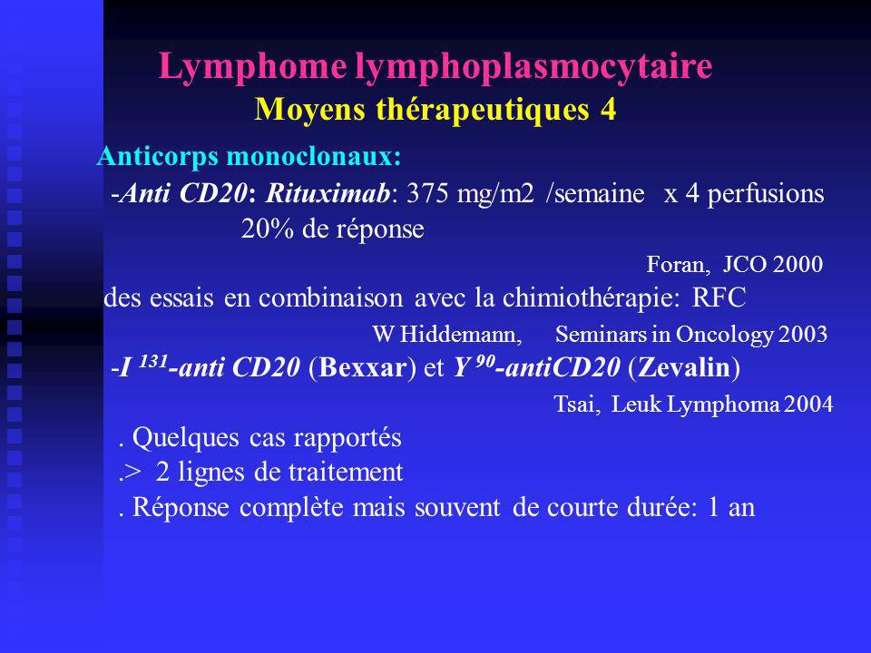 Lymphome lymphoplasmocytaire