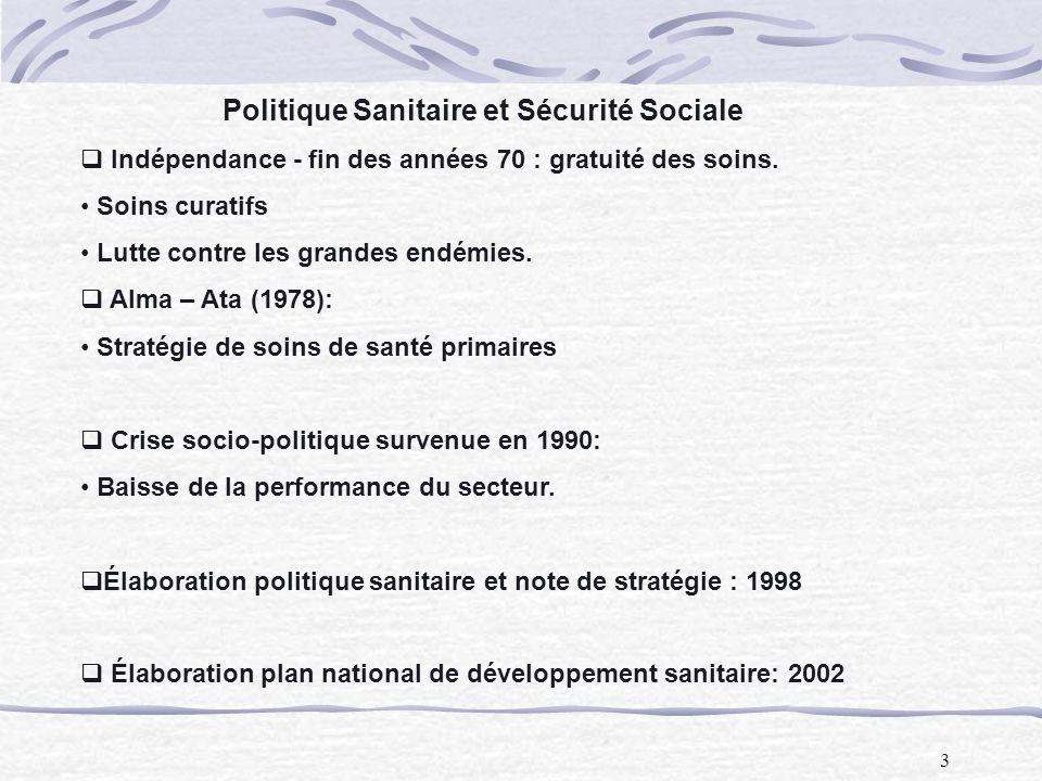 Politique Sanitaire et Sécurité Sociale