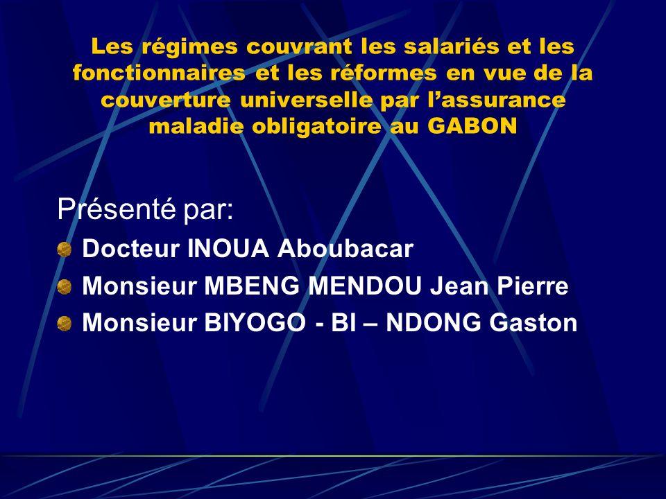 Présenté par: Docteur INOUA Aboubacar