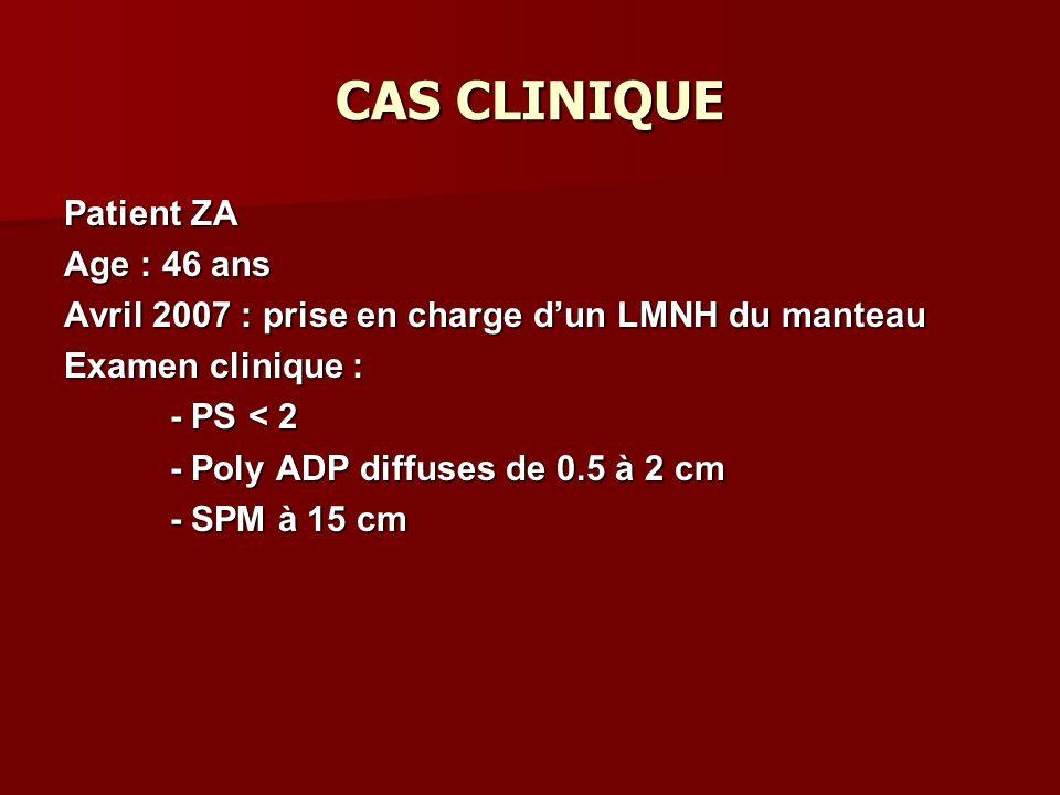 CAS CLINIQUE Patient ZA Age : 46 ans