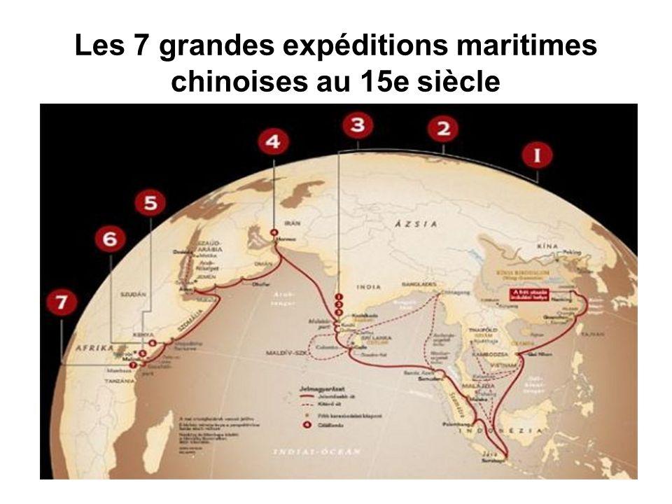 Les 7 grandes expéditions maritimes chinoises au 15e siècle