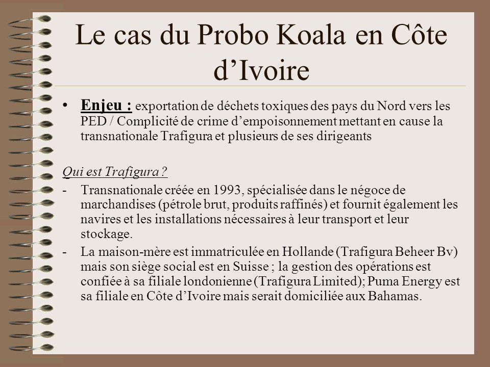 Le cas du Probo Koala en Côte d'Ivoire